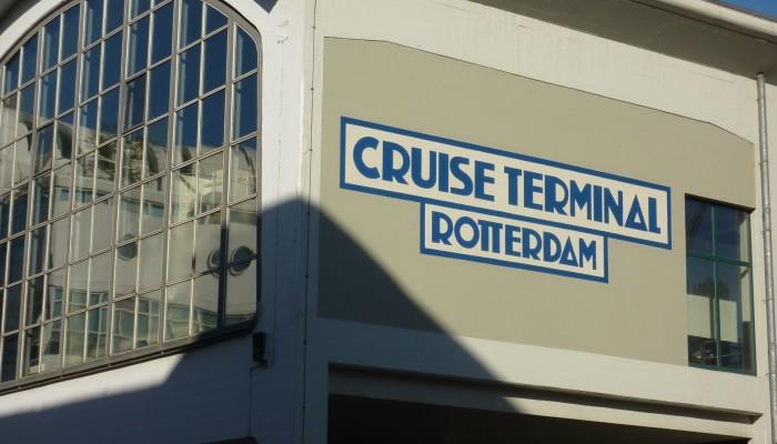Cruise Terminal te Rotterdam